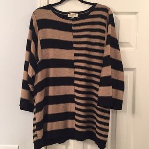 Women's Striped Tunic Sweater